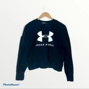 Under Armour Coldgear Youth XL Cropped Sweatshirt